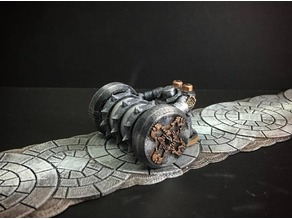 Netherforge Tunnel Caber (28mm/Heroic scale)