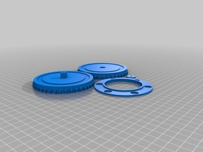 Turntable for crafting 90mm for 10mm steel balls