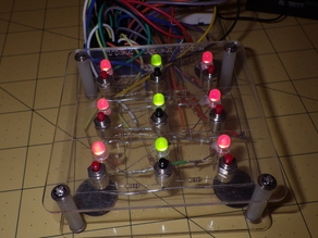 Arduino Games, Tic Tac Toe and Lights Out