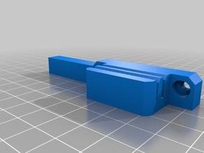 Prusa i3 MK3S Y belt holder with end stop v2