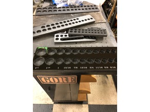 """Socket Organizers for 1/2, 3/8 and 1/4"""" drive Metric and Imperial"""