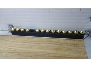 E3D Nozzle Holder - 14 Slots