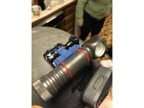 Zebra Light GoPro mount