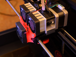 Replicator 2X Cooling Fan Duct
