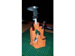 Hexagon Desk Tool Holder/Stand