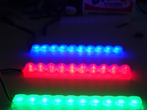Parametric LED Diffuser