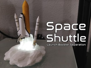 Space Shuttle ( Launch Booster Separation )