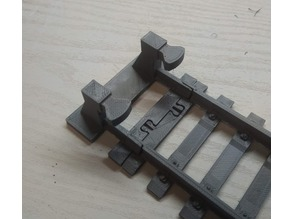 Lego rails stop
