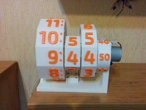 3D Printed Numechron Clock