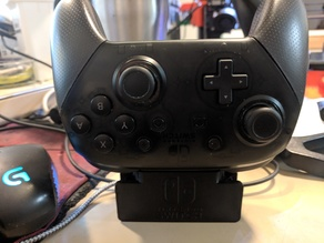 Compact Charging Dock for Nintendo Switch Pro Controller