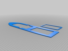 3D Printable ship deck for Utility ship