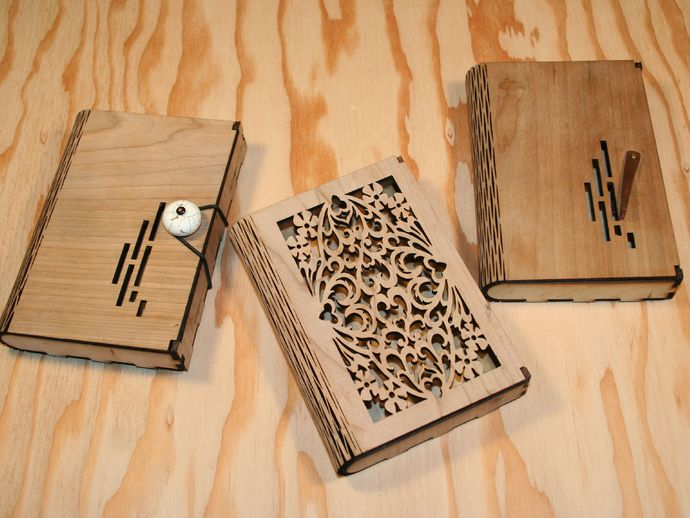 Flex Box A Wooden Box With A Living Hinge By Maker23
