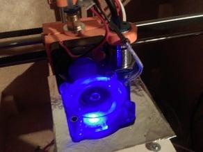 Smartrapcore cooler fan duct