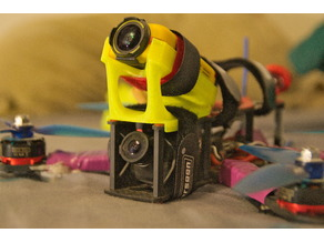 FireFly Q6 action camera mount for impulserc alien