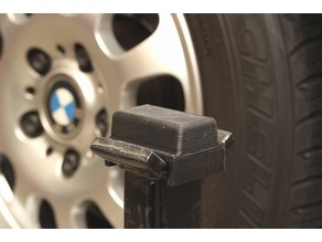 Jack stand pad for BMW vehicles