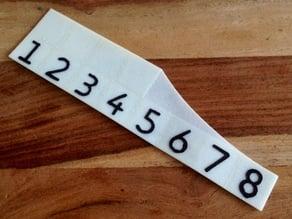 MeasureTool 8in