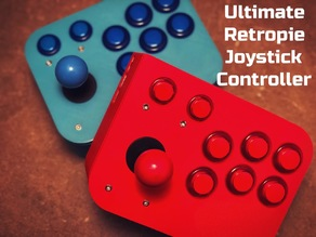 Ultimate Retropie Joystick Controller