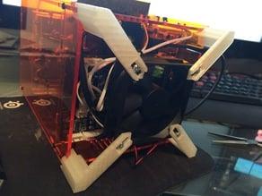 Tiny Boy Fabrikator Mini 80mm fan feet. 30mm Height - Adjustable
