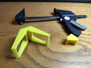 mini trigger clamp for corners