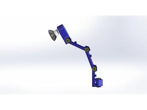 Wall mount GU10 Led Lamp