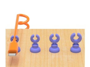 USB cable holder of various type