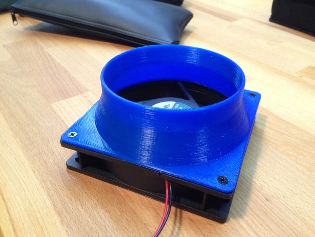40w Laser Cutter Exhaust With Fan Adapter By Fab Ster