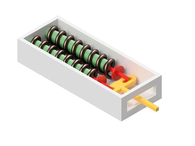 Mini SMA (shape memory alloy) Actuator by Mirkoengineer