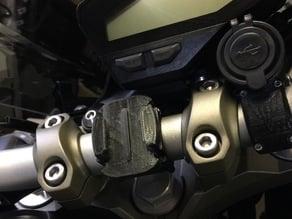 Yamaha MT09 GoPro mount