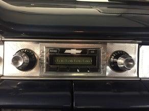 1958 Chev Radio Bezel