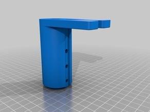 Half Inch Post Holder-Slotted Base