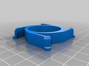 32 x 57 x 10 Customized Spool Hub Adapter