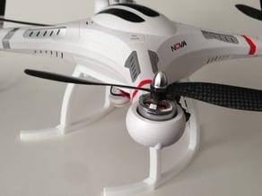 Landing gear/Skids for Cheerson CX-20, Quanum Nova quadcopter