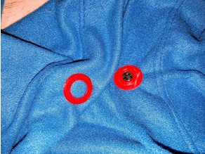 Snap Assembly Snuggie Magnetic Grommet