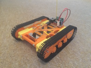 Arduino Robot Tank Chassis