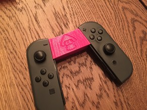 Nintendo Switch JoyCon Small Grip - New logos