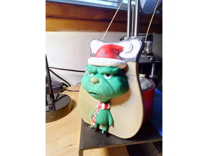 Grinch Gift Card Holder