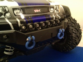 Traxxas Summit bumper parts