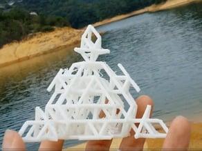 Tetrahedral Cystalline Network