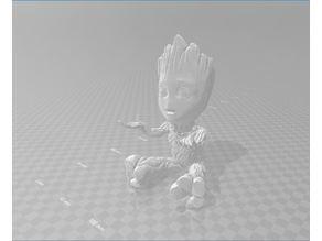 Baby Groot Pen Holder