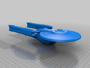 Star Trek - Federation Atlas Class Prototype Dreadnought Cruiser