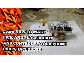 Pick and Place App Control Robot