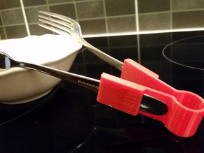 2 Forks become tongs!