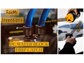 Water cooling Drip catch