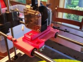 Robo3D Titan Extruder Mount (Simple) For E3DV6
