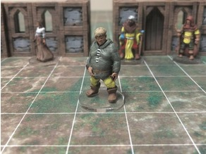 Townsfolke: Oaf (28mm/32mm scale)