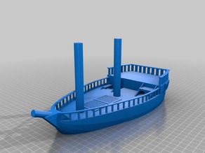 DnD Scatter- 2 Mast Sailing Ship