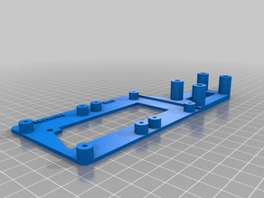 Anycubic I3 Mega Double Mosfet Holder