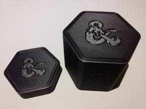 Hexagonal Spell Card Box