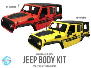 RC SCX10 II Inner Fenders For XTRA SPEED JK Body