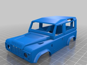 Orlandoo 1:32 Land Rover D90 shell for Jeep Wrangler